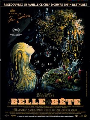 La-Belle-et-la-bête-Jean-Cocteau-Jean-Marais-Affiche-poster