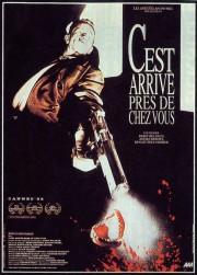 C-est-arrive-pres-de-chez-vous-poster-affiche-Benoit-Poelvoorde