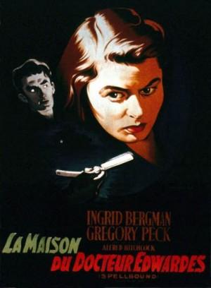 La-maison-du-docteur-Edwardes-Alfred-Hitchcock-Ingrid-Bergman-Gregory-Peck-poster-affiche