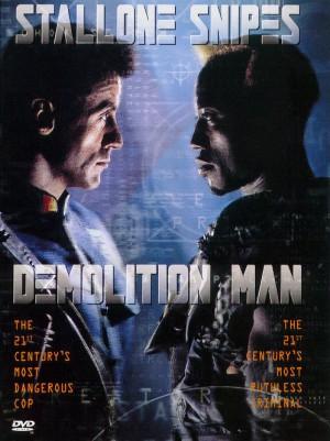 Demolition-Man-Sylvester-Stallone-Wesley-Snippes-poster-affiche