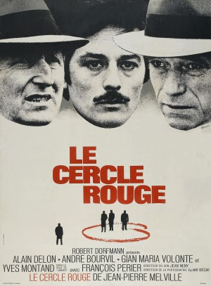 Le-cercle-rouge-Bourvil-Delon-Montant-Melville-poster-affiche