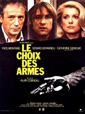 Le-choix-des-armes-Depardieu-Deneuve-Montand-poster-affiche