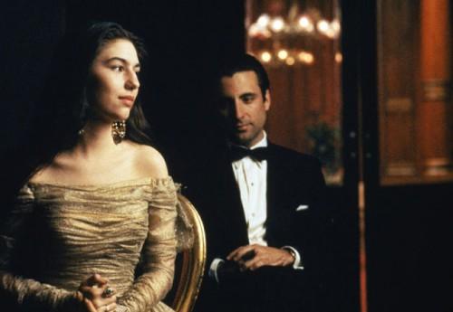 Sofia Coppola (Mary Corleone) et Andy Garcia (Vincent Mancini)