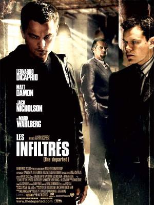 Les-infiltrés-Scorsese-Dicaprio-Damon-Nicholson-poster-affiche
