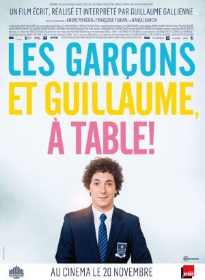 Les-garçons-et-Guillaume-à-table-Guillaume-Gallienne-poster-affiche