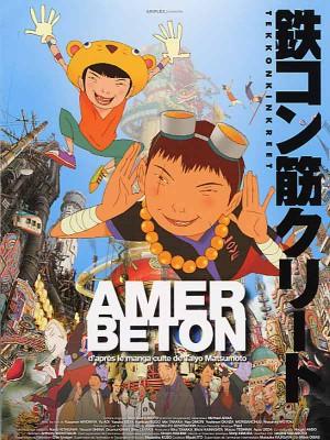 Amer-béton-manga-poster-affiche