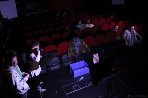 The popcorn show, web série