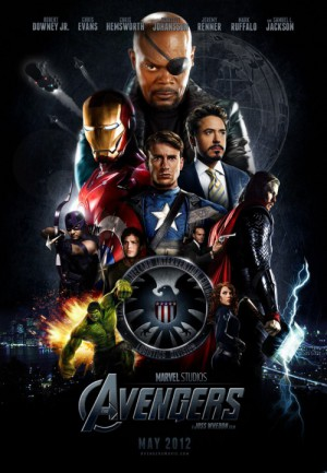 Avengers-Josh-Whedon-Robert-Dooney-JR-Mark-Ruffalo-Scarlett-Johanson-poster-affiche