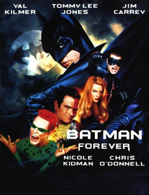 Batman-forever-Nicole-Kidman-Val-Kilmer-Tommy-Lee-Jones-Jim-Carrey-poster-affiche