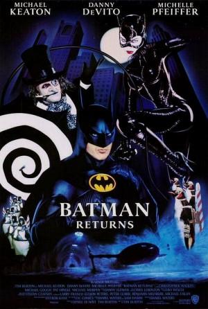 Batman-Tim-Burton-Michel-Pfeiffer-Danny-Devito-Mickael-Keaton-poster-affiche