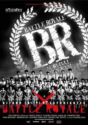 Battle-Royale-Kinji-Fukasaku-Takeshi-Kitano-poster-affiche