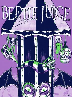 Beetlejuice-Tim-Burton-Mickael-Keaton-poster-affiche