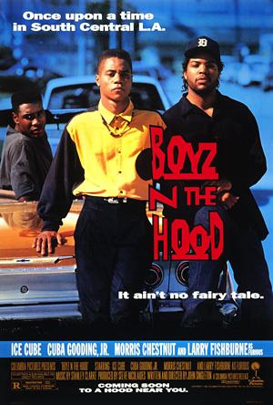 Boyz-n-the-hood-Ice-Cube-Laurence-Fishburne-Cuba-Gooding-Jr-John-Singleton-poster-affiche