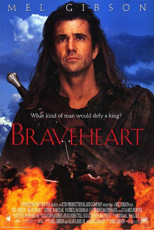 Braveheart-Mel-Gibson-Sophie-Marceau-Brendan-Gleeson-poster-affiche
