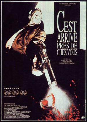 C-est-arrivé-près-de-chez-vous-Benoit-Poelvoorde-Remy-Belvaux-poster-affiche