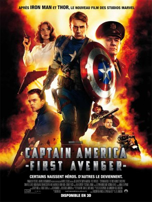 Captain-America-First-Avenger-Chris-Evans-Tommy-Lee-Jones-Joe-Johnston-poster-affiche