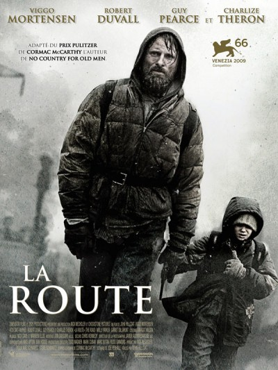 La-route-the-road-john-Hillcoat-Viggo-Mortensen-Charlize-Theron-Robert-Duvall-Guy-Pearce-poster-affiche
