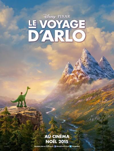Le-voyage-d-Arlo-Pixar-Disney-film-movie-poster-affiche