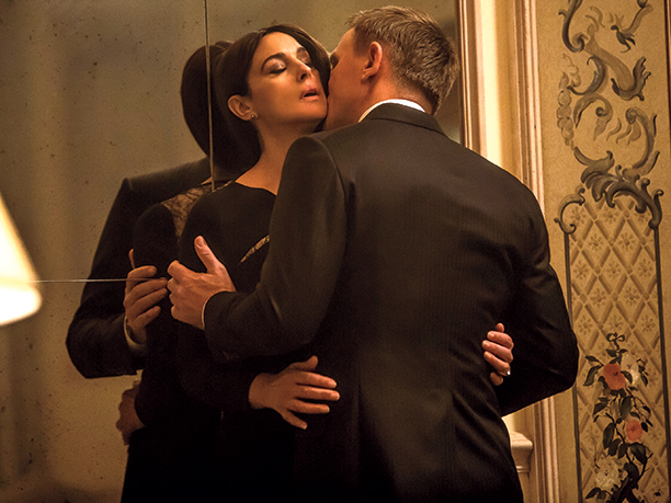 film movie bane-annonce james bond 007 spectre daniel craig bellucci