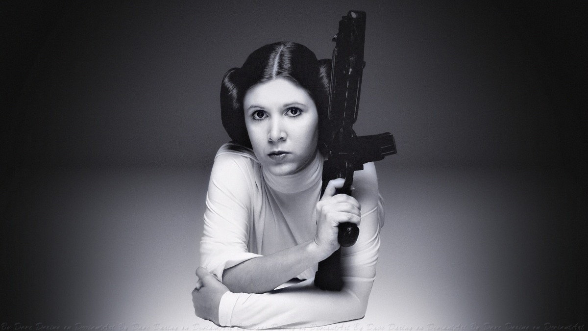 Photos Hot & Sexy: Princesse Leia Organa/Carrie Fisher (Star Wars)