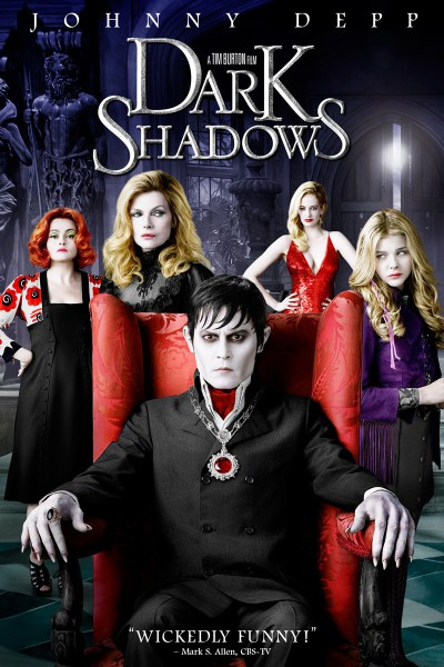 Dark-shadows-Tim-Burton-Johnny-Depp-Eva-Green-Helena-Bonham-Carter-Michelle-Pfeiffe-Chloe Moret-Christopher Lee-poster-affiche