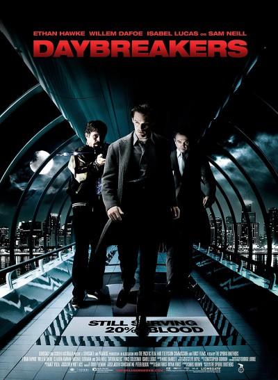 Daybreakers-Spierig-Ethan-Hawke-Willem-Dafoe-Isabel-Lucas-Sam-Neil-Poster-affiche