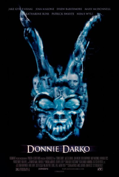 Donnie-Darko-Richard-Kelly-Jake-Gillenhall-Drew-BarrymorePatrick-Swaize-Noah-Wyle-poster-affiche