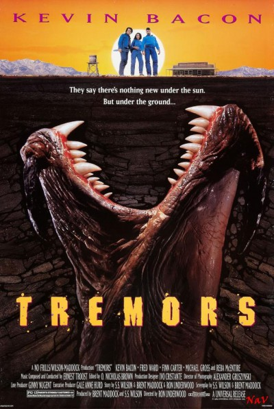 Tremors-Ron-Underwood-Kevin-Bacon-poster-affiche