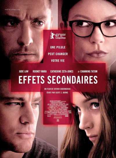Effet-secondaire-Jude-Law-Catherine-Zeta-Jones-Rooney-Mara-Channing-Tatum-film-movie-poster-affiche