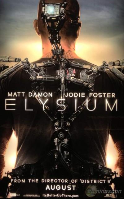 Elysium-Neil-Blomkamp-Matt-Damon-Jodie-Foster-poster-affiche