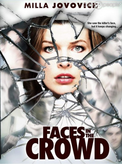 Faces-in-the-crowd-Milla-Jovovich-poster-affiche
