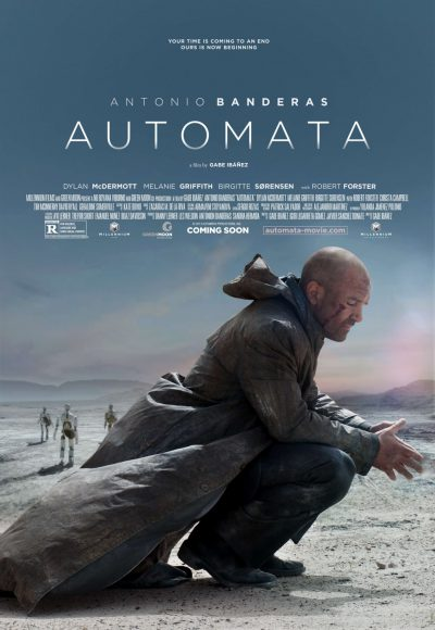 Automata-Antonio-Banders-Mélanie-Griffith-film-movie-poster-affiche