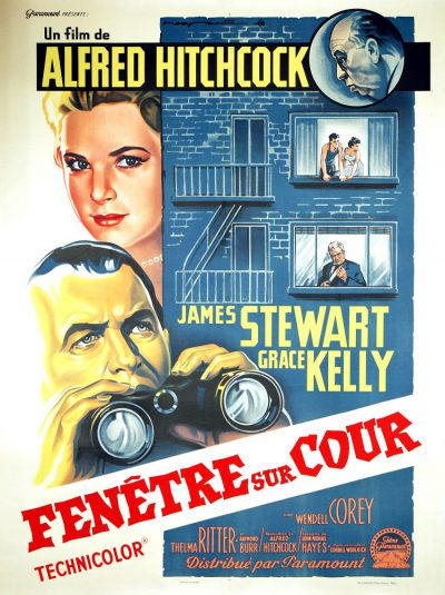 Fenêtre-sur-cour-Alfred-Hitchcock-James-Stewart-Grace-Kelly-film-movie-poster-affiche